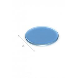Vloerplaat glas rond