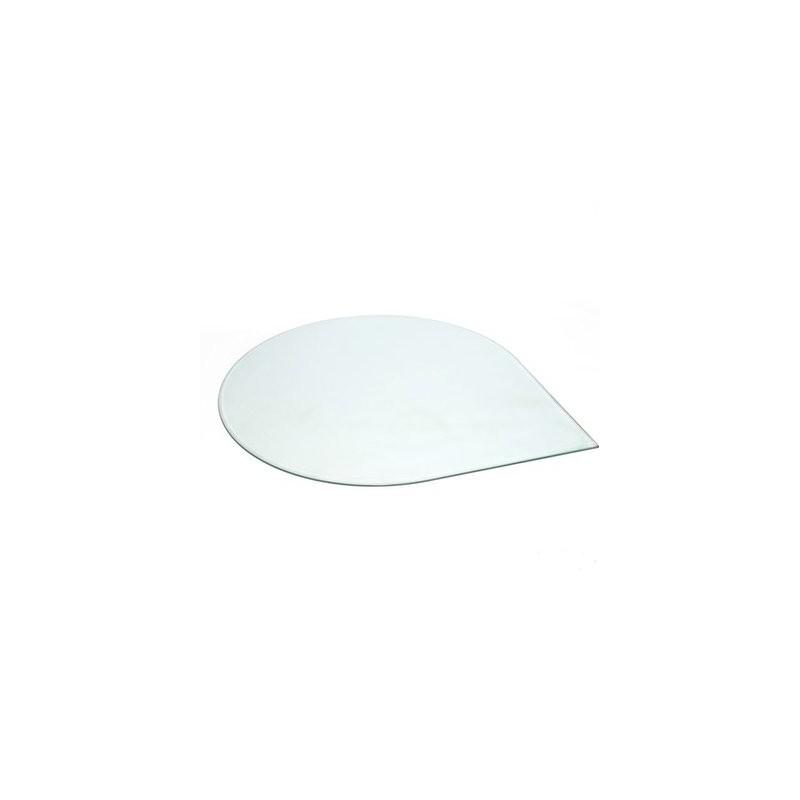 Contura 600-500-400 vloerplaat druppel glas