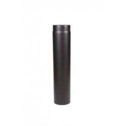 Kachelpijp 2mm staal zwart...
