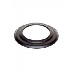 Rozet zwart 2mm